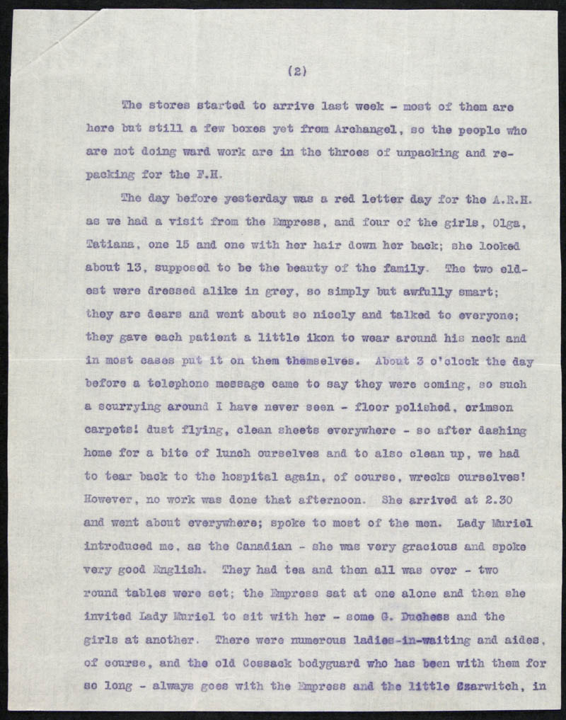 Letter - 01/05/???? to Traddles, Volume Number: , Page Number: 2
