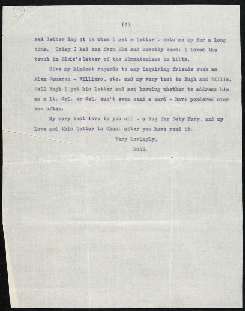 Letter - 01/05/???? to Traddles, Volume Number: , Page Number: 7