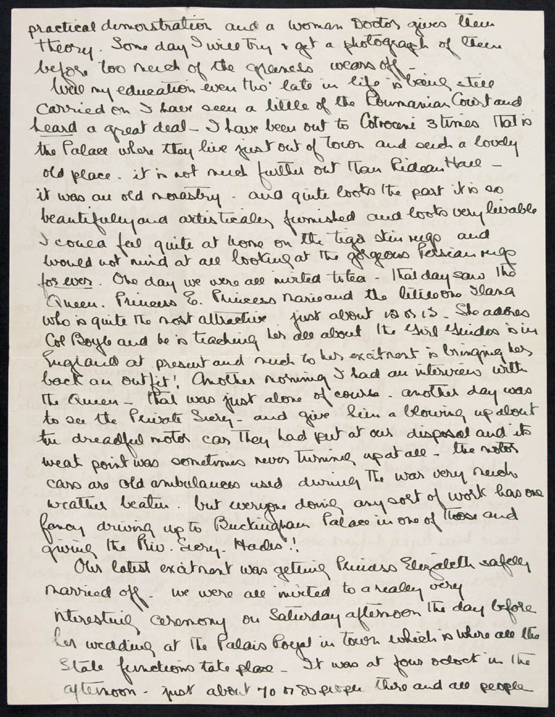 Letter - 04/03/1921 to Mary, Volume Number: , Page Number: 2