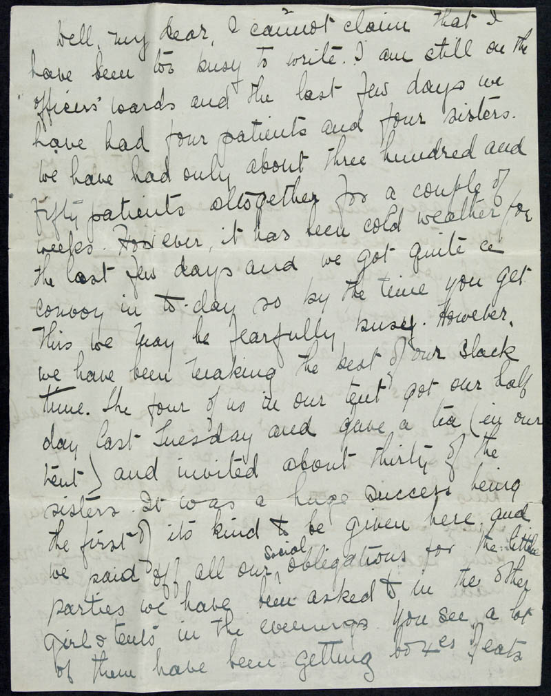 Letter - 23/01/1915 to Irene, Volume Number: , Page Number: 2