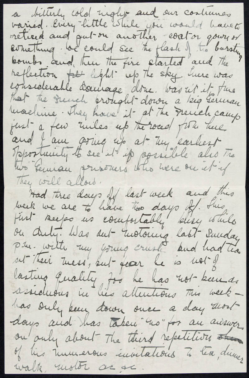 Letter - 02/02/1916 to Irene, Volume Number: , Page Number: 2