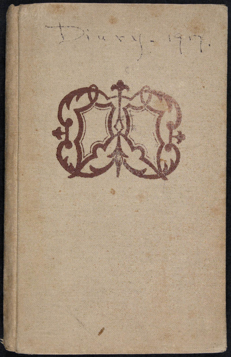 Diary - 1917, Volume Number: , Page Number: 1