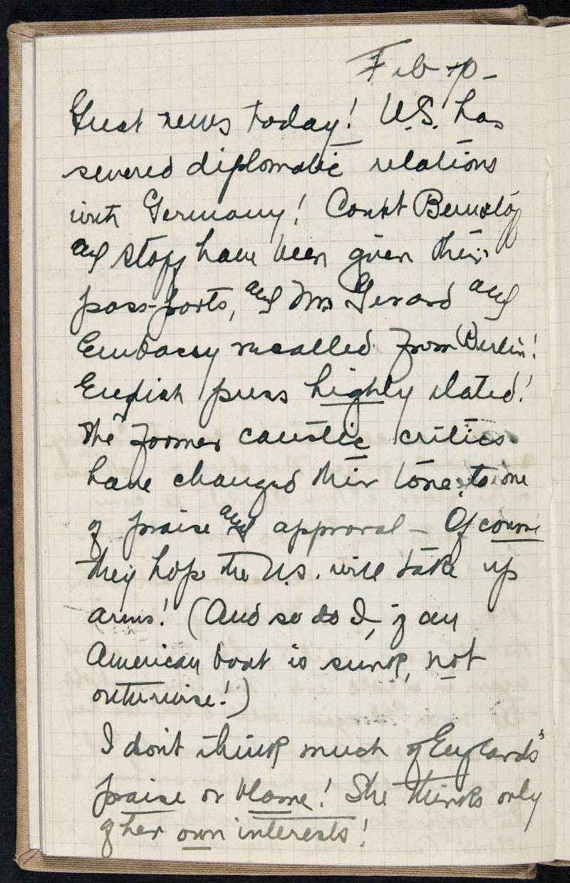 Diary - 1917, Volume Number: , Page Number: 20