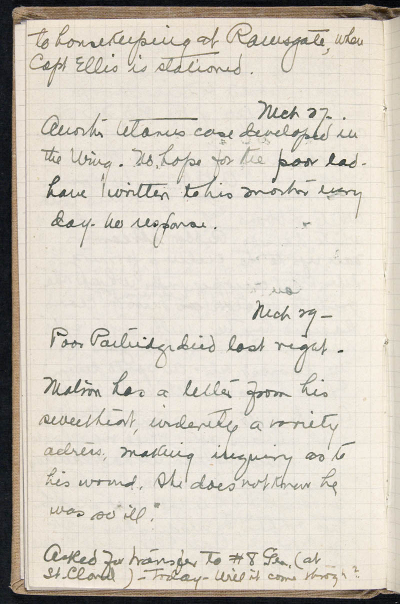 Diary - 1917, Volume Number: , Page Number: 38