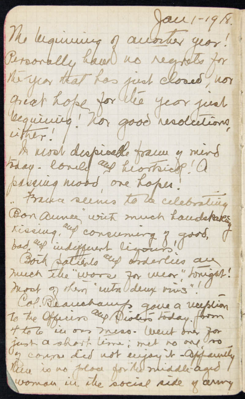 Diary - 1918, Volume Number: , Page Number: 2