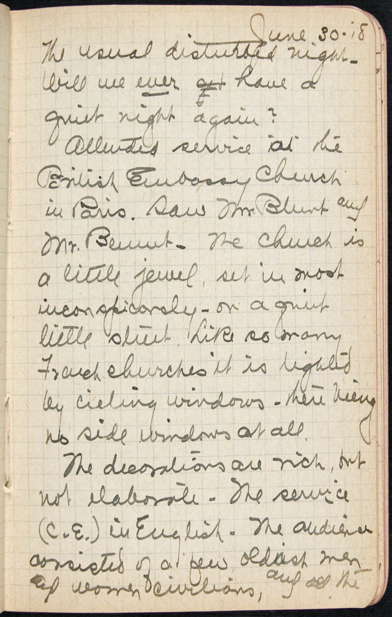 Diary - 1918, Volume Number: , Page Number: 37