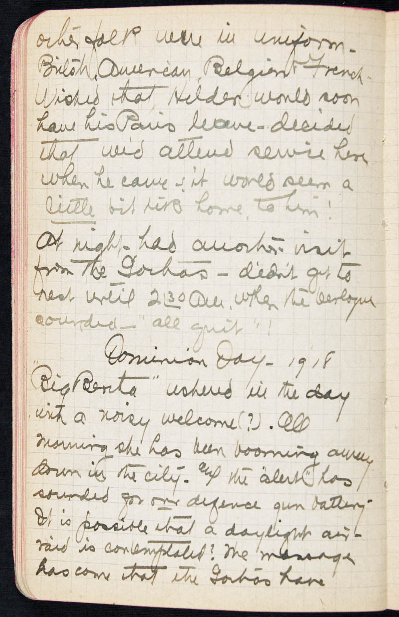 Diary - 1918, Volume Number: , Page Number: 38