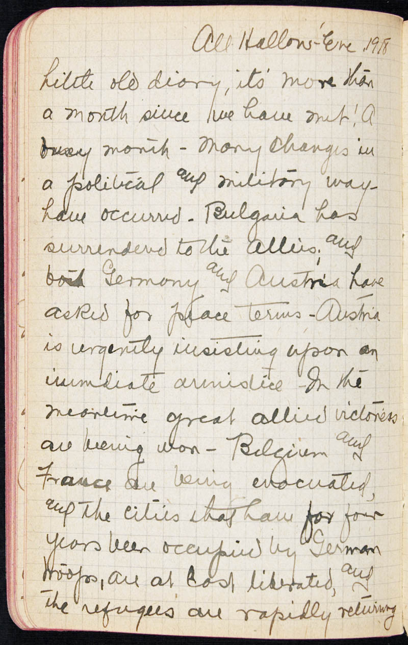 Diary - 1918, Volume Number: , Page Number: 93