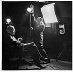MIKAN 3613575 Yousuf Karsh in studio  January 12, 1945. [126 KB]