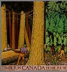 MIKAN 2845125 Timber in Canada. 1926-1934 [222 KB, 600 X 643]