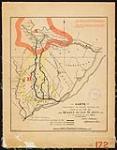 MIKAN 4030345 Carte montrant le tracé actuel du chemin de fer de Québec au Lac St. Jean tel qu'arpenté en 1880 [document cartographique] 1880. [Carte montrant le tracé actuel du chemin de fer de Québec au Lac St. Jean tel qu'arpenté en 1880 [document cartographique], 1880.]