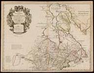 Carte du Canada ou de la Nouvelle France et des découvertes qui y ont été faites dressée sur plusieurs observations et sur un grand nombre de relations    [document cartographique] / [253 KB, 1000 X 776]