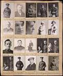 Page d'un album d'épreuves du studio Topley, négatifs originaux 133831-133850. . Mars, 1916. [155 KB, 600 X 729]