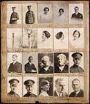 MIKAN 3810075 Page from a Topley Studio Counterbook (studio proof album), original negative numbers 136054-136073.  . November, 1916. [153 KB, 600 X 692]