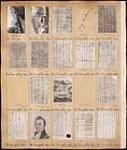 MIKAN 3810125 Page from a Topley Studio Counterbook (studio proof album), original negative numbers 112209-112228.  . [ca. March, 1910]. [160 KB, 600 X 705]