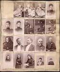 MIKAN 3808099 Page from a Topley Studio Counterbook (studio proof album), original negative numbers 60951-60970  . June 1890-January 1892. [140 KB, 600 X 715]