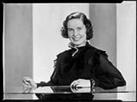 MIKAN 4341830 Miss Virginia Kindle (now Mrs. Tom Johnstone) December 15, 1936 [Miss Virginia Kindle (now Mrs. Tom Johnstone), December 15, 1936]