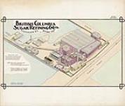 MIKAN 3808695 British Columbia Sugar refining Co. Ltd., Vancouver, B.C., October 1904. October 1904. (Isometric view sheet) [682 KB]