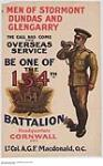 Be One of the 154th Battalion :  recruitment campaign. [261 KB, 1000 X 1602]