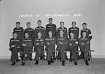 MIKAN 5012666 No. 14 Course R.A.F. Air Bombers. 23 Oct. 1944 [No. 14 Course R.A.F. Air Bombers., 23 Oct. 1944]