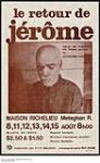 MIKAN 3929290 Acadie - Le Retour de Jerome. 1976. [Acadie - Le Retour de Jerome., 1976.]