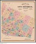 MIKAN 3919034 Key plan of the city of Montreal, January 1881. January 1881. [Key plan of the city of Montreal, January 1881., January 1881.]