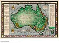 MIKAN 2845094 A map of Australia. Portraying agricultural products & fisheries [cartographic material] ca. 1930. [A map of Australia. Portraying agricultural products & fisheries [cartographic material], ca. 1930.]