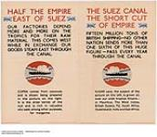 MIKAN 2845357 The Suez canal, The Short Cut of Empire. 1926-1934 [222 KB, 1000 X 869]