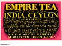 MIKAN 2845249 Empire Tea from India, Ceylon & East Africa. 1926-1934. [295 KB, 1000 X 746]