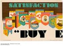 """MIKAN 2845251 Satisfaction, """"Buy E :  Part of a Set Entitled Satisfaction and Service -""""Buy Empire by Telephone"""". 1926-1934. [171 KB, 1000 X 736]"""