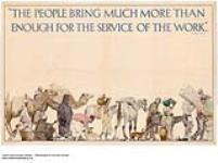 MIKAN 3837255 The People Bring Much More Than Enough for the Service of the Work. 1926-1934. [175 KB, 1000 X 744]