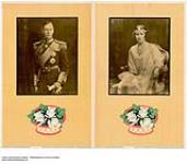 MIKAN 2845316 [untitled] :  photograph of King George VI and Queen Elizabeth I. 1926-1934 [158 KB, 1000 X 874]