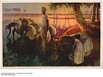 MIKAN 2845209 [untitled] :  workers harvesting crop. 1926-1934. [[untitled] :, 1926-1934.]