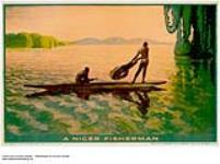 MIKAN 2845346 A Niger Fisherman. 1926-1934. [200 KB, 1000 X 743]
