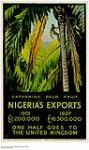 MIKAN 2845047 Gathering Palm Fruit - Nigeria's Export. ca. 1927. [478 KB, 1000 X 1681]