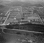 Aerial view of Camp Valcartier. [289 KB, 1000 X 992]