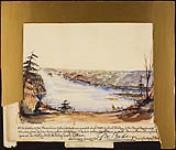 MIKAN 2938191 Chaudière Falls and Hull. ca. 1853 [Chaudière Falls and Hull., ca. 1853]