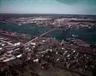 Jettys and Angus Macdonald Bridge - Halifax. [195 KB, 1000 X 790]