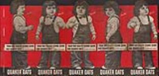 MIKAN 3825441 Quaker Oats advertisement [Dionne Quintuplets]  ca.1936-1938. [Quaker Oats advertisement [Dionne Quintuplets], ca.1936-1938.]