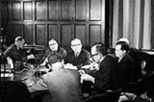 MIKAN 4085980 P.M. Lester Pearson's Press Conference. Re:  Acquisition Nuclear Warheads  0000 [P.M. Lester Pearson's Press Conference. Re: Acquisition Nuclear Warheads, 0000]