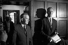 MIKAN 4085981 P.M. Lester Pearson's Press Conference. Re:  Acquisition Nuclear Warheads  0000 [P.M. Lester Pearson's Press Conference. Re: Acquisition Nuclear Warheads, 0000]