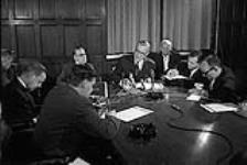 MIKAN 4085984 P.M. Lester Pearson's Press Conference. Re:  Acquisition Nuclear Warheads  0000 [P.M. Lester Pearson's Press Conference. Re: Acquisition Nuclear Warheads, 0000]