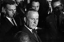 MIKAN 4085990 Lester Pearson's Press Conference Re: Nuclear Arms. August 14, 1963. [Lester Pearson's Press Conference Re: Nuclear Arms., August 14, 1963.]