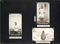 MIKAN 4876976 Native [Inuit] cook [in front of] Doctor's residence and Dr. L.D. Livingstone's Eskimo [Inuit] servant at Pangnirtung, Baffin Island, N.W.T. 1929 [146 KB, 1000 X 731]