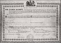 MIKAN 5148084 [Appointments of Algonquin Chiefs by the Captain General and Governor in Chief of the Provinces of Upper and Lower Canada]. 1830-1837. [251 KB, 1000 X 706]