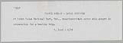 MIKAN 4313669 Des vacanciers se préparant à une excursion en bateau au parc national de la Pointe-Pelée, en Ontario, transportent des skis nautiques à bord. juin 1955 [Des vacanciers se préparant à une excursion en bateau au parc national de la Pointe-Pelée, en Ontario, transportent des skis nautiques à bord., juin 1955]