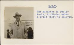 MIKAN 5196004 [Mr. Winter, Minister of Public Works]. [between 1955-1963] [[Mr. Winter, Minister of Public Works]., [between 1955-1963]]