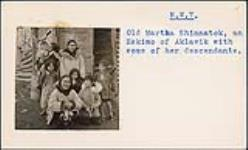 MIKAN 5196030 [Martha Shinnatok and some of her descendants]. [between 1955-1963] [[Martha Shinnatok and some of her descendants]., [between 1955-1963]]