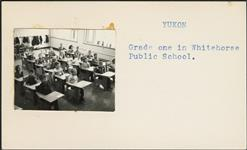 MIKAN 5196050 Grade one in Whitehorse Public School. [between 1955-1963] [Grade one in Whitehorse Public School., [between 1955-1963]]