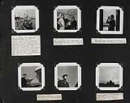 "MIKAN 5350431 The ""Regina Polaris"" at dock; The cook and his assistant; Captain Bannerman; Interpreter Sam Ford; The Chateau Frontenac. 1948 [The 'Regina Polaris' at dock; The cook and his assistant; Captain Bannerman; Interpreter Sam Ford; The Chateau Frontenac., 1948]"